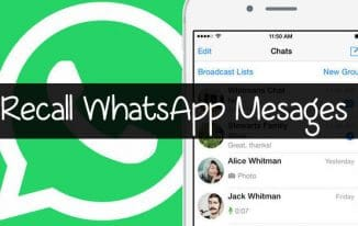 How To Delete Already Sent Messages on WhatsApp